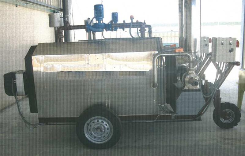 Dispositif de chauffage de saumure modèle CPS-1000