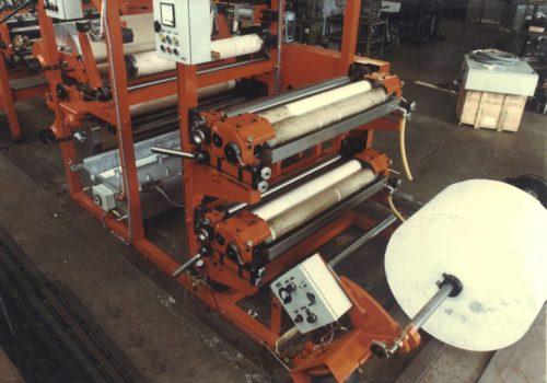Impresora-parafinadora cortadora de hojas de papel