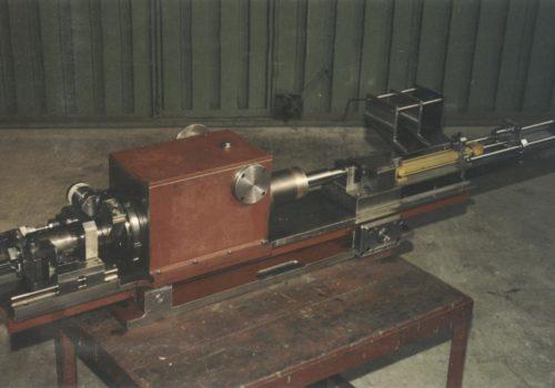Máquina para fabricación de brocas