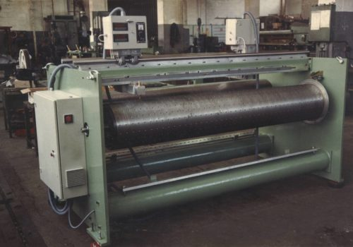 Pantógrafo para el pintado de troqueles para cortadora de cartón ondulado